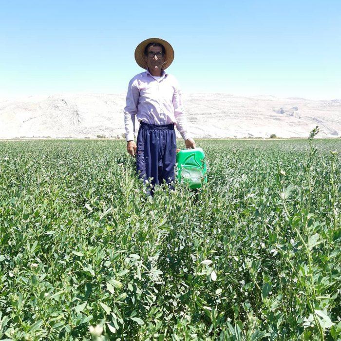 رضایت کشاورزان از مصرف ای ام و محصولات با برند امکان پاور